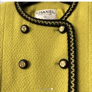 Vintage Wool Chanel. Enough Said #swoon